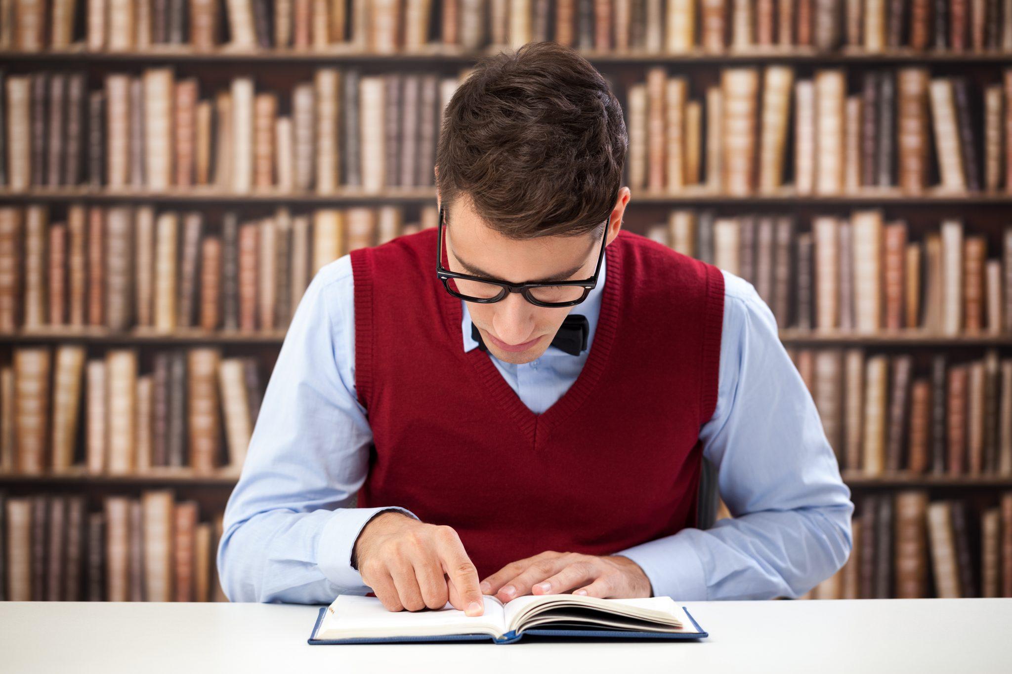 Estudante Concentrado