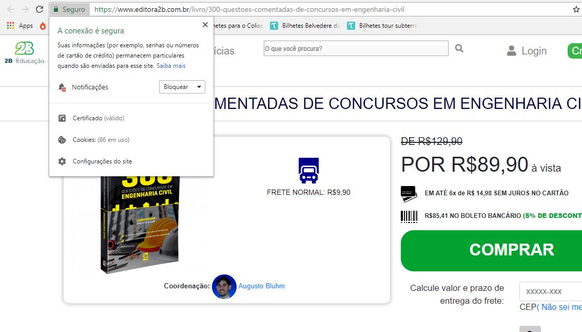 Editora 2b site seguro