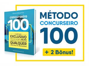 Método Concurseiro100 + bônus