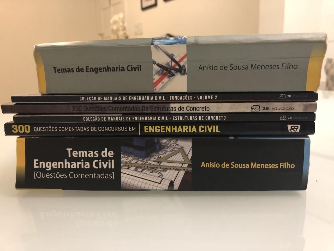 Livros de Engenharia Civil para Concursos