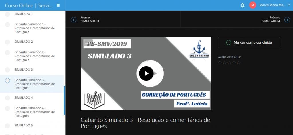 Simulados SMV
